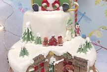 χριστουγεννιατικες τουρτες