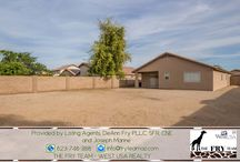 SOLD! Ready To Move-In Countryside Large Lot Home / 15364 W Evans Drive, Surprise, AZ 85379 3 Bed | 2 Bath | 1,665 Square Feet