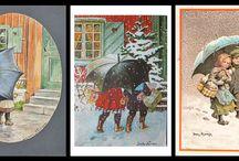 bambini e ombrelli