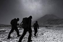 Iceland mountain hiking / my way