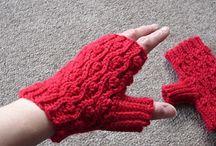 fingerless gloves