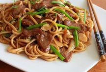 nouilles chinoised