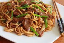 repas chinois et  vietnamiens