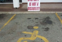 Disability handicap Parking