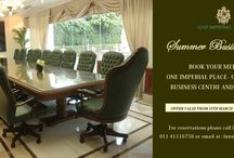 One Imperial Place / A luxurious business destination- Stand alone Business centre at The Imperial / by Imperial Delhi