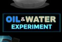 Oil & water experiments