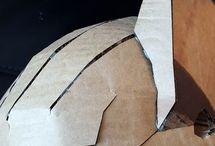 Шлем из картона