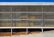 . Casa Azul . / Painel de referências para projeto da sede do projeto social Casa Azul em Samambaia, Brasília - DF.