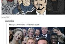 Avengers/Marvel / CAUTION: spoilers... / by Random Person
