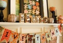 20 Thanksgiving Mantel Decorating Ideas / 20 Thanksgiving Mantel Decorating Ideas