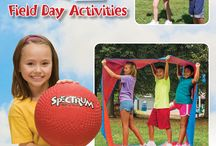 Field Day / Everything you need to plan the perfect Field Day! Activities, bulletin boards, and fun products