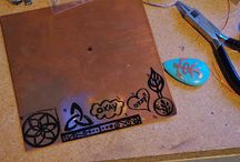 Copper jewellery handmade DIY