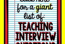 Teaching Interviews
