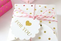 Wrapping ideas and gift packages