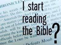 Reading the bible niv