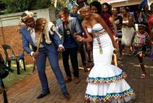 ndebele wedding dress