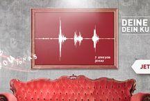 ArtYourVoice / Deine Stimme als Kunst! Jetzt neu auf www.ArtYourFace.com