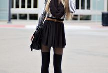 The must have outfits!  / by Megan Sipe