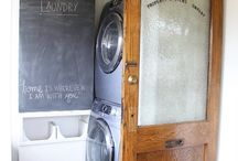 LAUNDRY ROOM longings / Laundry room inspiration.