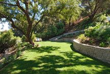 retaining wall project