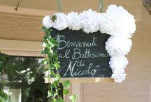 Battesimo Nicolò / Garden party for Nicolò