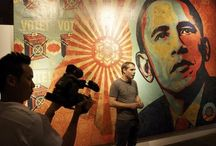 Shepard Fairey / Awesome artist