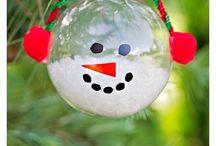 Fillable Christmas ornaments