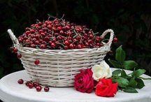 1 kosár cseresznye