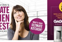 Ultimate Kitchen Contest  / Vote on your favourite kitchen in our Ultimate Kitchen Contest and win an amazing Gagenau Coffee/Espresso machine. Voting is open to Vancouver, Vancouver Island and Calgary. / by Homes & Living