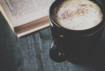 Hot drinks and good books for beautiful days
