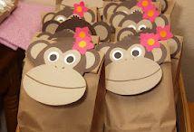 1st birthday/jungle/safari/monkey party