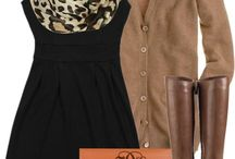 Wearing Animal Print / Wondering how to piece that leopard scarf, belt or those comfy flats you tried on into an outfit?  Here's a few ideas :) / by Christy Boehringer