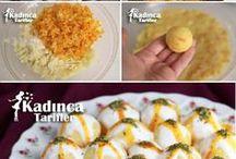 yoğurtlu havuçlu patates topları