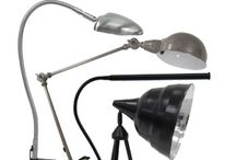 Studio Designs Lamps for Hobby Rooms and Home Offices / These lamps easily clamp onto table or shelves to provide light for your projects.
