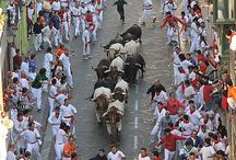 San Fermin / Running of the bulls in Pamplona