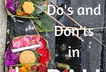 Bali trip ötlettár