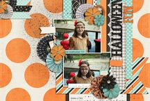 *Layouts* - Halloween & Easter