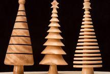 Julepynt - trædrejning