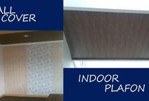 Upvc Plafon Solideflex / UPVC Wall Cover adalah material dinding upvc/wall panel sebagai alternatif penyekat ruangan (partisi) selain kayu dan metal, dengan keunggulan lebih tahan terhadap lembab dan air, serta ringan gampang dibersihkan, keliatan mewah & praktis. Terdiri dari berbagai macam pilihan motif yang sangat beragam, sehingga cocok untuk setiap kebutuhan ruangan dan desain.