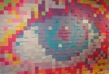 Postit Wall Art / by Alexandra Friedman
