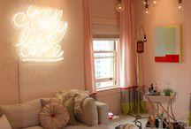 Teen Girls Cool Hangout Room