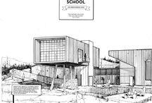 D R A W . / Architektur Skizzen Bleistift