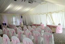 Pink Themes / Stunning range of pink coloured venue dressing.