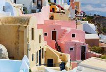 Greece Santorini / Pure Beautiful Resort Place :: Greece Santorini