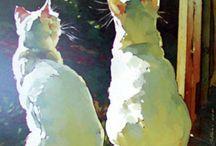 malarstwo zwierzęta