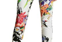Flower Power: Floral Print Pants