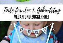 1. Geburtstag Torte & Krone selber nähen & Snack für Picknick