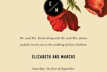 Wedding Invitations Modern Vintage
