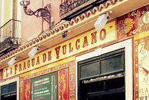Madrid Restaurants, Tapas and Snacks / Everybody in Madrid has their Tapas bar.