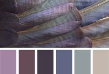 Colour Combos I love / These are colour swatches that I'd like to try out in my crafty projects